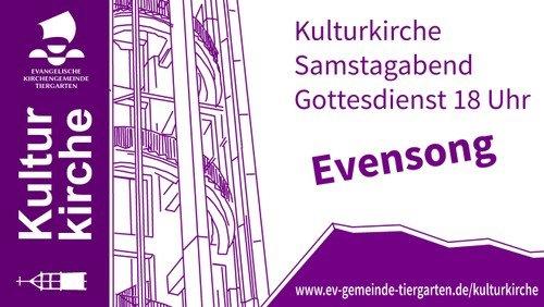 24. April - Livestream Kulturkirche