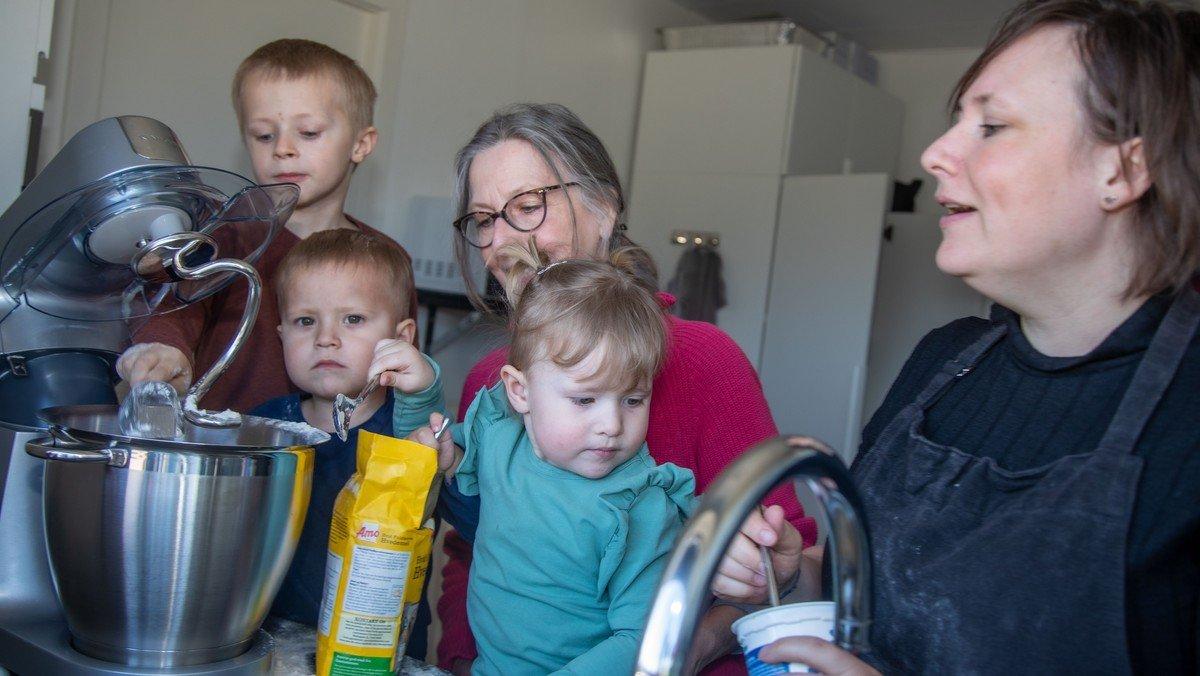 Nyt tilbud til småbørns familier