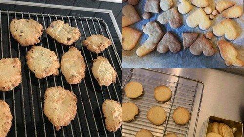 Konfirmanderne bager bibelske kager