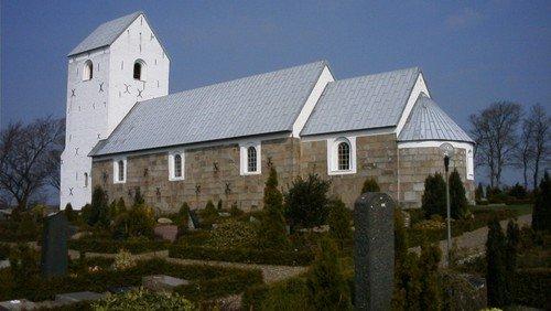 Gudstjeneste i Haverslev Kirke 25.4.2021