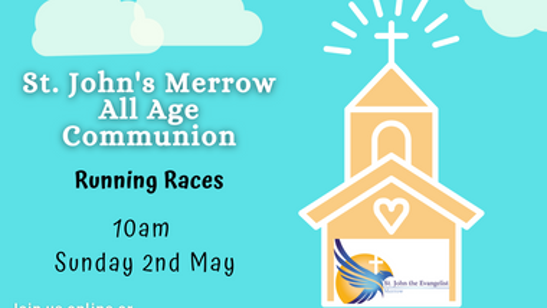 All Age Communion Service - Sunday 2nd May 2021