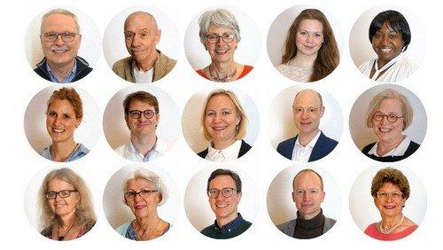 Die Kandidatinnen und Kandidaten für die Kirchenvorstandswahl am 13. Juni 2021