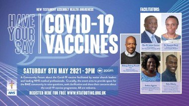Have Your Say: Covid-19 & Vaccine Forum