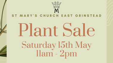 St Mary's Church Plant Sale