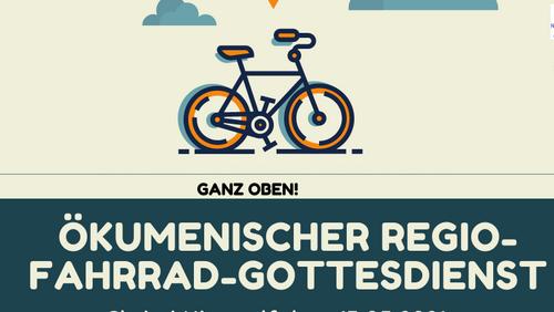 Fahrradgottesdienst an Christi Himmelfahrt