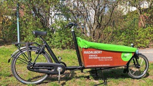 """Umweltfreundlich unterwegs mit """"Radalbert"""""""