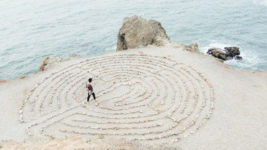 Come Join Us On Ascension Day & Walk the Labyrinth:  Thursday, May 13th @630pm