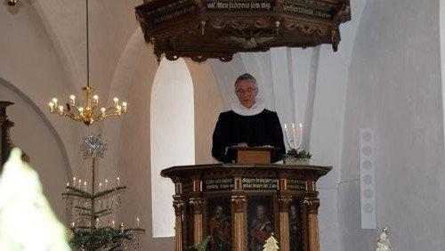 Billeder fra 100 års jubilæet, hvor Sjelle Kirke og Skjørring Kirke