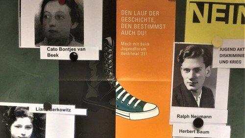 """""""Wozu dürfen wir heute nicht schweigen?"""" - Rückblick auf Schulprojekt zum Ende des 2. Weltkriegs vor 75 Jahren"""