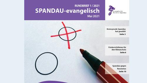 Neue Ausgabe von SPANDAU-evangelisch