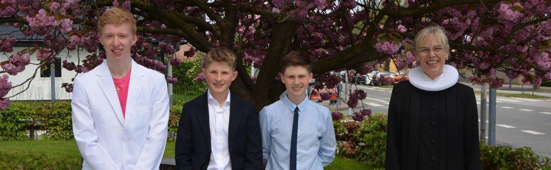 Tillykke til Jonathan, Sebastian og Mikkel