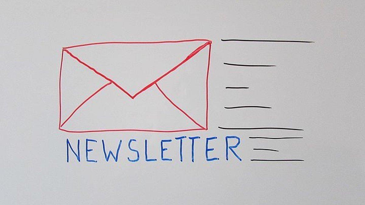 Anmeldung für den Newsletter der Gemeinde