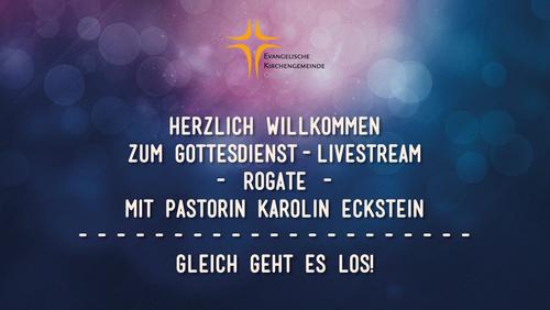 Gottesdienst-Livestream mit Pastorin Karolin Eckstein