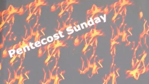 Pentecost Sunday May 23rd 2021