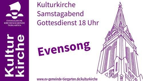 22. Mai - Livestream Kulturkirche (Evensong)