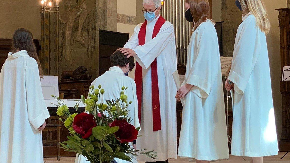 Pfingsten 2021: Konfirmationsfeiern im temple de St. Gervais