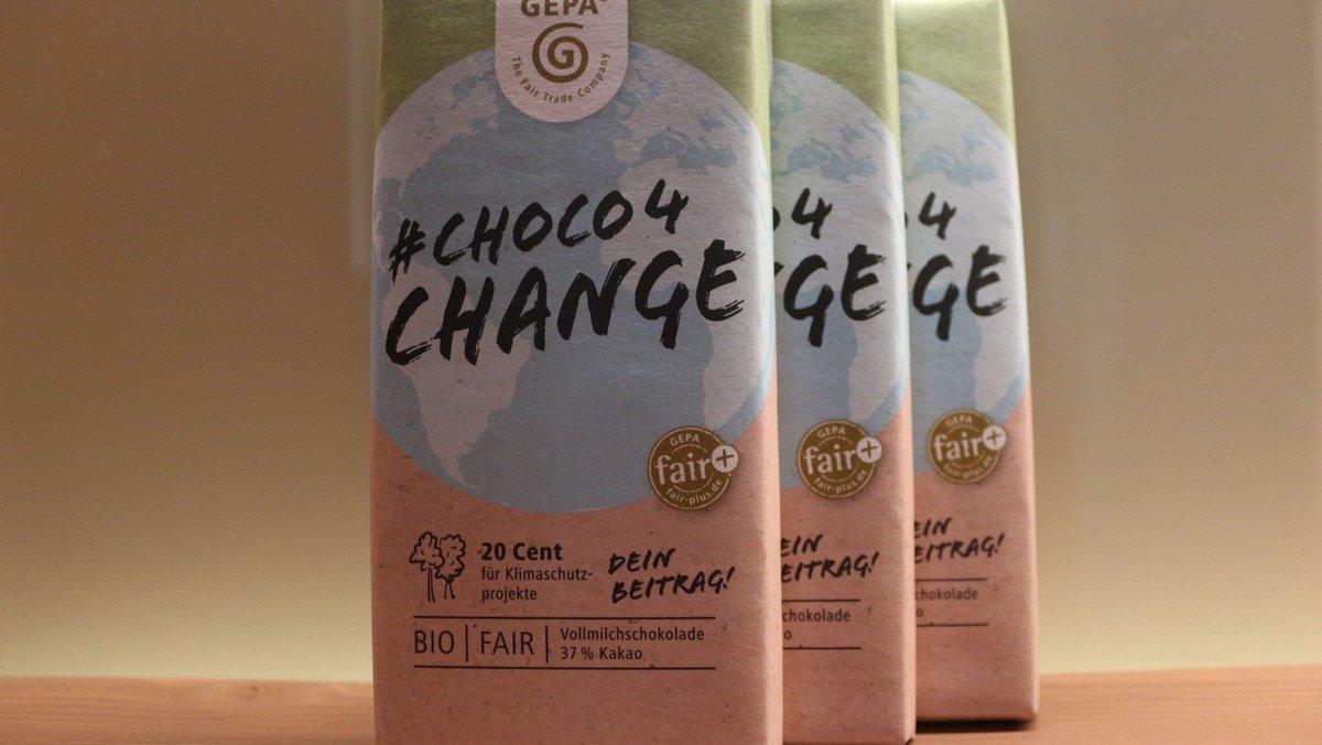 Mit Schokolade für eine bessere Welt