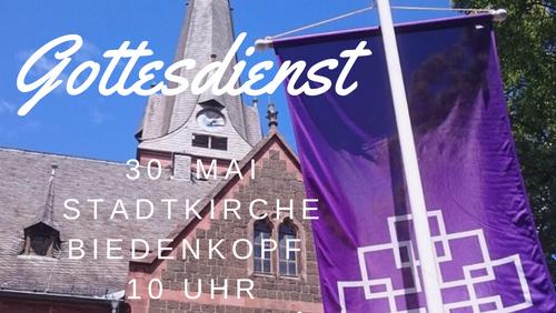 Gottesdienst in der Stadtkirche Biedenkopf - 10 Uhr