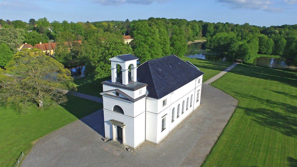 Kirken er lukket juli 2022-marts 2023