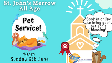 All Age Pet Service - Sunday 6th June 2021