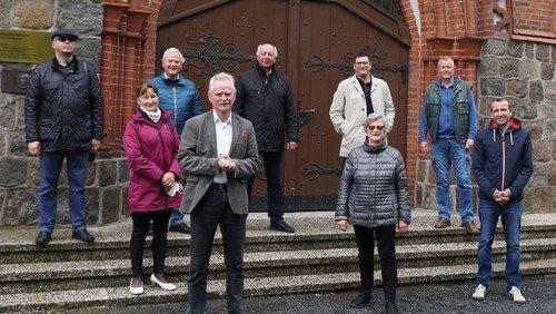 MdB zur Verabschiedung in Demminer Kirche