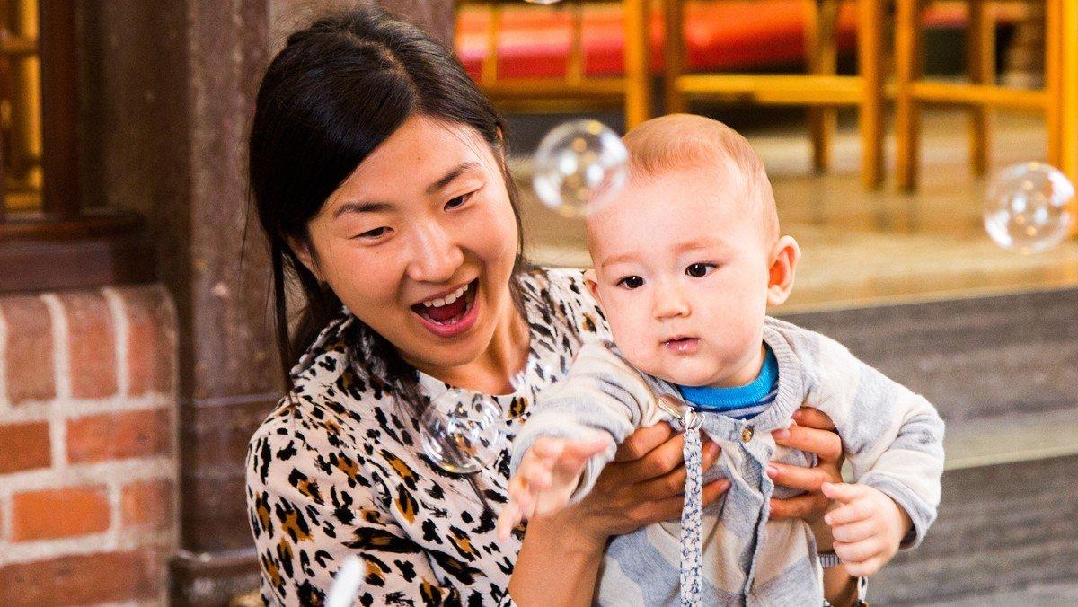 Babysalmesang - nye hold starter op