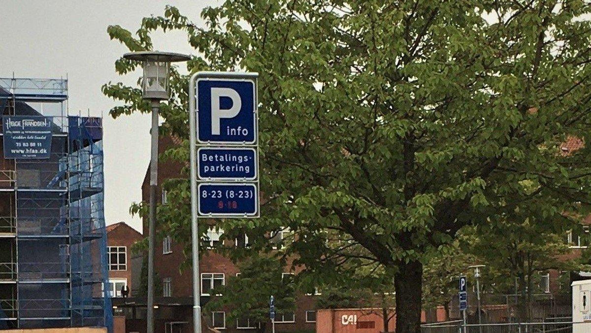 Ændrede parkeringsforhold