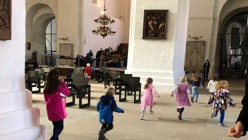 Kinderkirche im Dom und in St. Aegidien