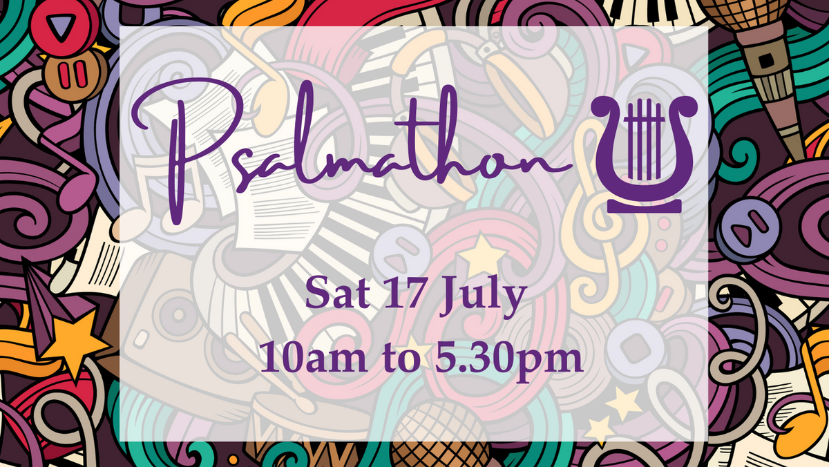 Sign up for the Psalmathon