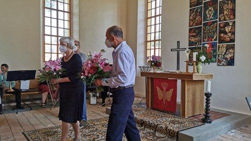 Dank-Gottesdienst in Wernsdorf