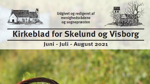 Kirkeblad Skelund-Visborg juni-august 2021