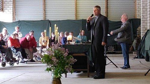   Pfingstgottesdienst in den Wohnstätten Gottesschutz