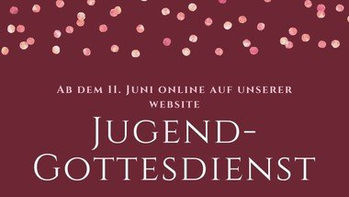 Jugendgottesdienst online