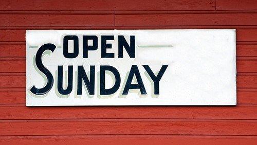 Der Faire-Welt-Laden ist auch am Sonntag wieder für Sie da!