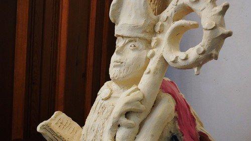 Aken: St. Nikolaus zieht in seine Kirche ein