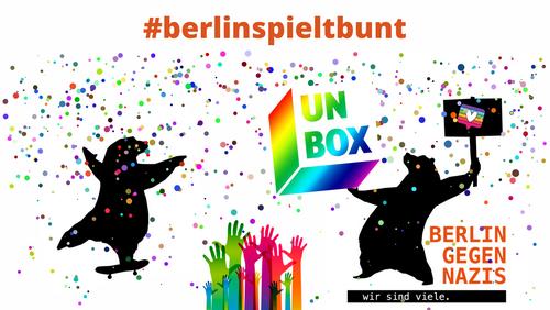 UNBOX Teil des Netzwerks BERLIN GEGEN NAZIS