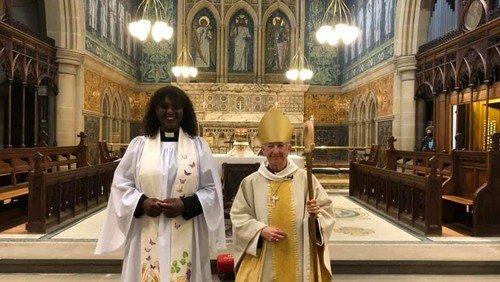 Yvette's Ordination