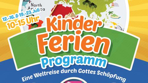Kinderferien Programm