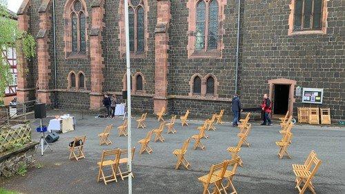 Wir feiern und wählen ... online-Gottesdienst Stadtkirche Biedenkopf