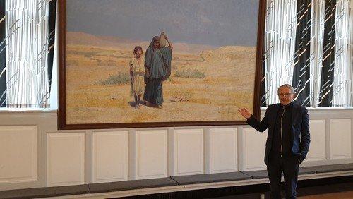 Kæmpestort Tuxen-maleri udlånes til særudstilling
