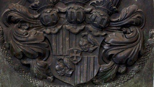 Wappenschild des Grafen Adam von Schwarzenberg, 1641