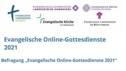 """Befragung """"Evangelische Online-Gottesdienste 2021"""""""