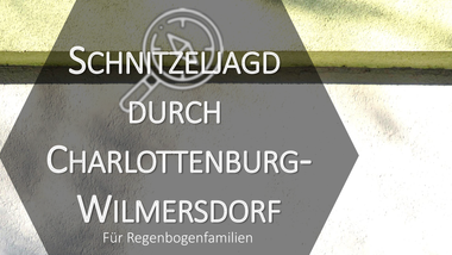 Jetzt anmelden: Schnitzeljagd durch Charlottenburg-Wilmersdorf für Regenbogenfamilien