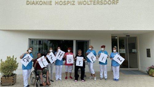 Diakonie Hospiz Woltersdorf zeigt Kampagne 24/7 Hospiz