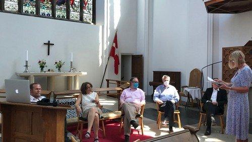 Det nye kirkeråd og udvalg.