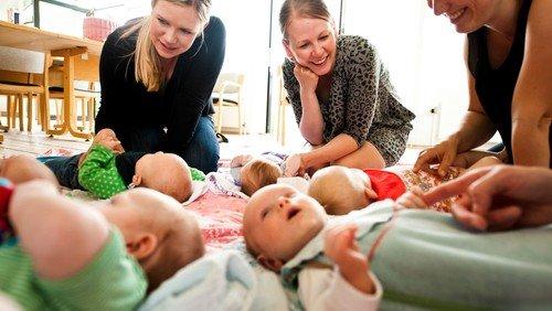 Babyer og tumlinger i Udby Kirke