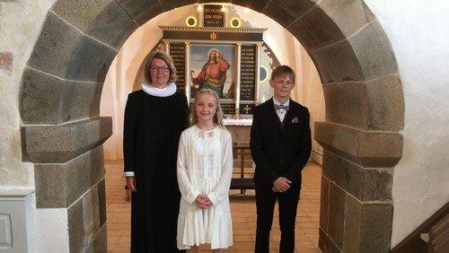 Konfirmeret i Ellidshøj kirke lørdag d. 19.06.21