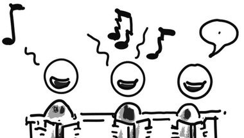 Wir dürfen wieder singen