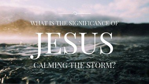 Rev. Claire's Sermon for the 20th June 2021:j Jesus calms the storm'.