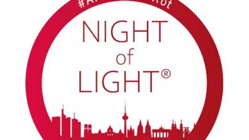 Night of Light - wir sehen rot
